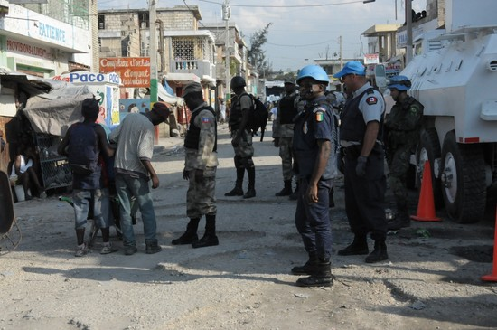 62 arrested in joint police operation in Port-au-Prince