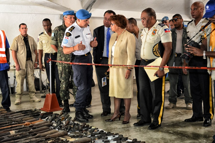 Photo : Daniel Comanici/UNPOL - UN/MINUSTAH