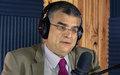 Entrevue de Mourad Wahba Représentant spécial adjoint du Secrétaire général