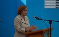 La représentante spéciale du Secrétaire général de l'ONU présente ses condoléances et réitère le soutien de l'ONU aux autorités nationales