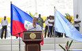 Le Chef de l'ONU visite Haïti après le passage de l'ouragan Matthew