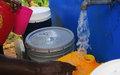 De l'eau potable dans les robinets du Palais Sans Souci