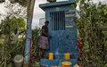 Promesse tenue : Los Palmas a maintenant accès à l'eau potable