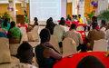Mobilisation de la jeunesse pour lutter contre le SIDA, les violences sexuelles et les grossesses précoces