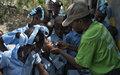 Haïti: la lutte contre le choléra se poursuit