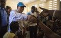 Les déclarations du Secrétaire général des Nations Unies lors de la conférence de presse conjointe avec le Chef de l'Etat Haitien