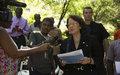 Message de la Représentante Spéciale du Secrétaire General des Nations Unies en Haïti, Sandra Honore à l'occasion du nouvel an