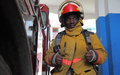 sapeur-pompier engagé