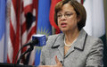 Communiqué de presse # 535 - La Représentante spéciale du Secrétaire général des Nations Unies en Haïti, Sandra Honoré, déplore et condamne les attaques et intimidations contre des citoyens ainsi que des journalistes dans l'exercice de leur fonction