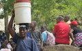 L'eau potable, un frein à la violence communautaire