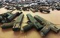 Haïti sécurité : La PNH poursuit sa lutte contre les armes illégales.