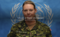 Stéphanie Moisan-Vallée: Un modèle de soldat de paix