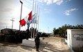 Fin  des opérations pour le bataillon Uruguay- Perou (URUPERBAT)