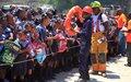 Cap-Haitien : bien réagir face à un  tremblement de terre suivi de Tsunami