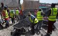 « Bouché twou » : Le MTPTC et la MINUSTAH lancent des travaux de rénovation des routes à Port-au-Prince