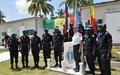 Les Cayes : 140 gendarmes du Sénégal reçoivent la Médaille des Nations Unies