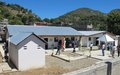 Une Unité de traitement du choléra inaugurée au Cap Haïtien
