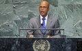 Haïti à la soixante-septième session de l'Assemblée générale des Nations Unies