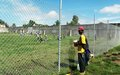 Le stade de football de Hinche désormais sécurisé