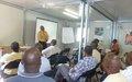 Pour une 'culture de paix' dans la presse du Cap-Haïtien