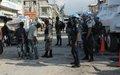 62 arrestations lors d'une opération de police conjointe à Port-au-Prince