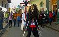 Cap-Haitien: Un carnaval des étudiants pour dire non à la violence
