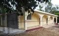 Centre: Un réfectoire pour les élèves du collège Sacré-Cœur de Papaye