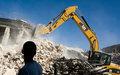 Des débris du séisme redonnent vie à Port-au-Prince