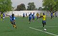 Le ballon rond reprend ses droits au centre sportif Dadadou