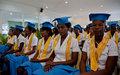 Un diplôme pour une centaine de jeunes des quartiers sensibles de Port-au-Prince