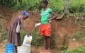 Lancement d'un projet de captage de 8 sources à Grosse-morne (Sud)
