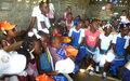 Cap-Haitien : Des bancs en bambou pour l'apprentissage des enfants
