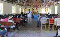 Forums communautaires / Artibonite : La commune de Terre-Neuve renforce le dialogue