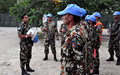 Patrouille de nuit avec le bataillon népalais à Port-au-Prince