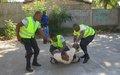 Jacmel : 10 PNH officers trained in intervention techniquesJacmel : 10 policiers de la PNH formés en technique d'Intervention