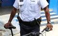 Jean-Ernest Célestin, initiator of the bike brigadeJean-Ernest Célestin, l'initiateur de la brigade à vélo