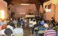 La sécurité et les élections font débat à l'Île de la tortue