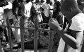 Lancement d'un projet de réinsertion de 200 jeunes de Cité Soleil et Martissant [FR/EN]